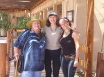 Left to right: Christine Gregg, me, and Esther on trip to sacred sites in New Mexico in 2010.