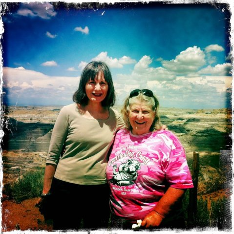 Jennie and Christine at Angel Fire
